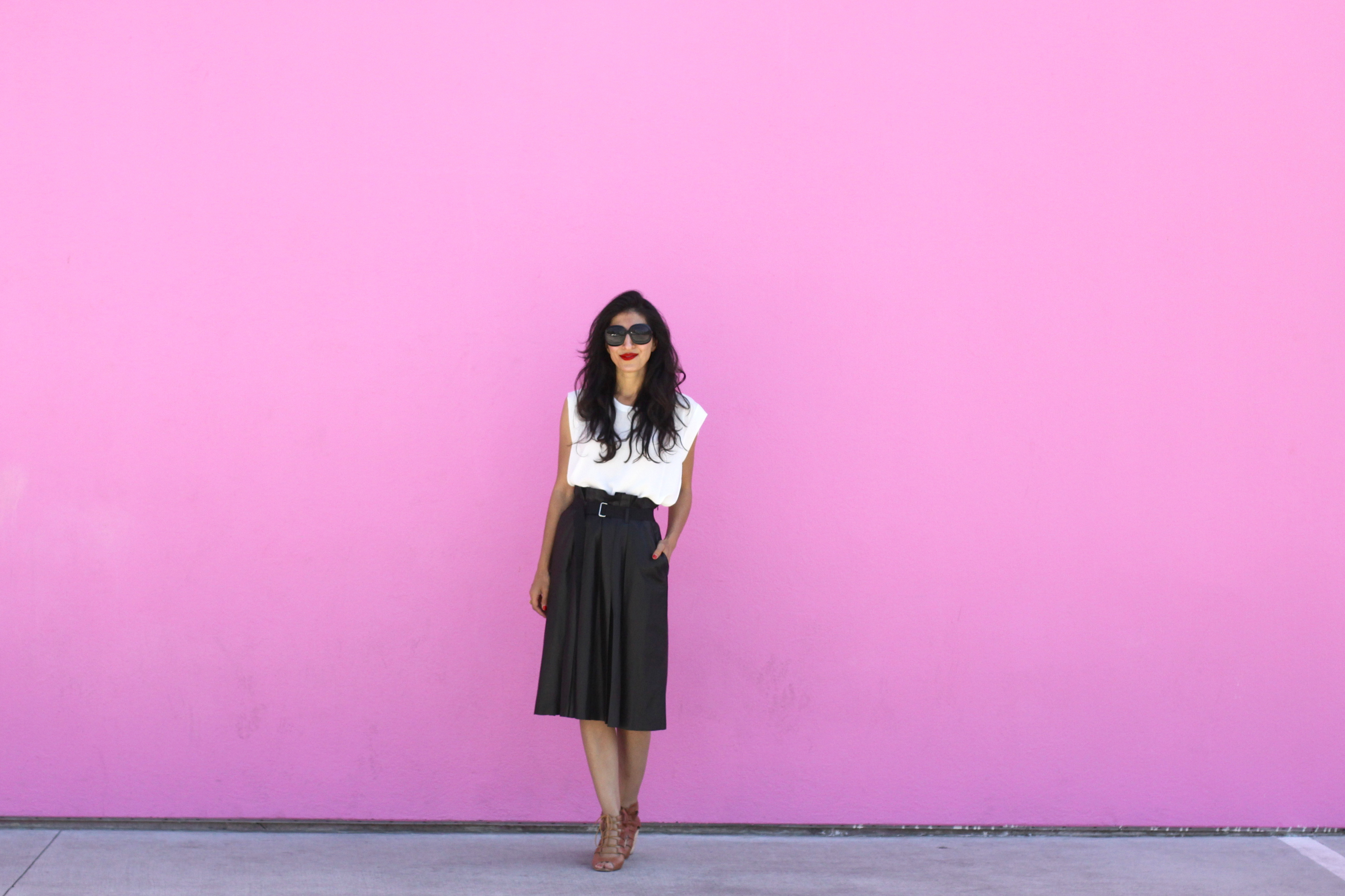 Location: THAT pink wall! Paul Smith on Melrose :)