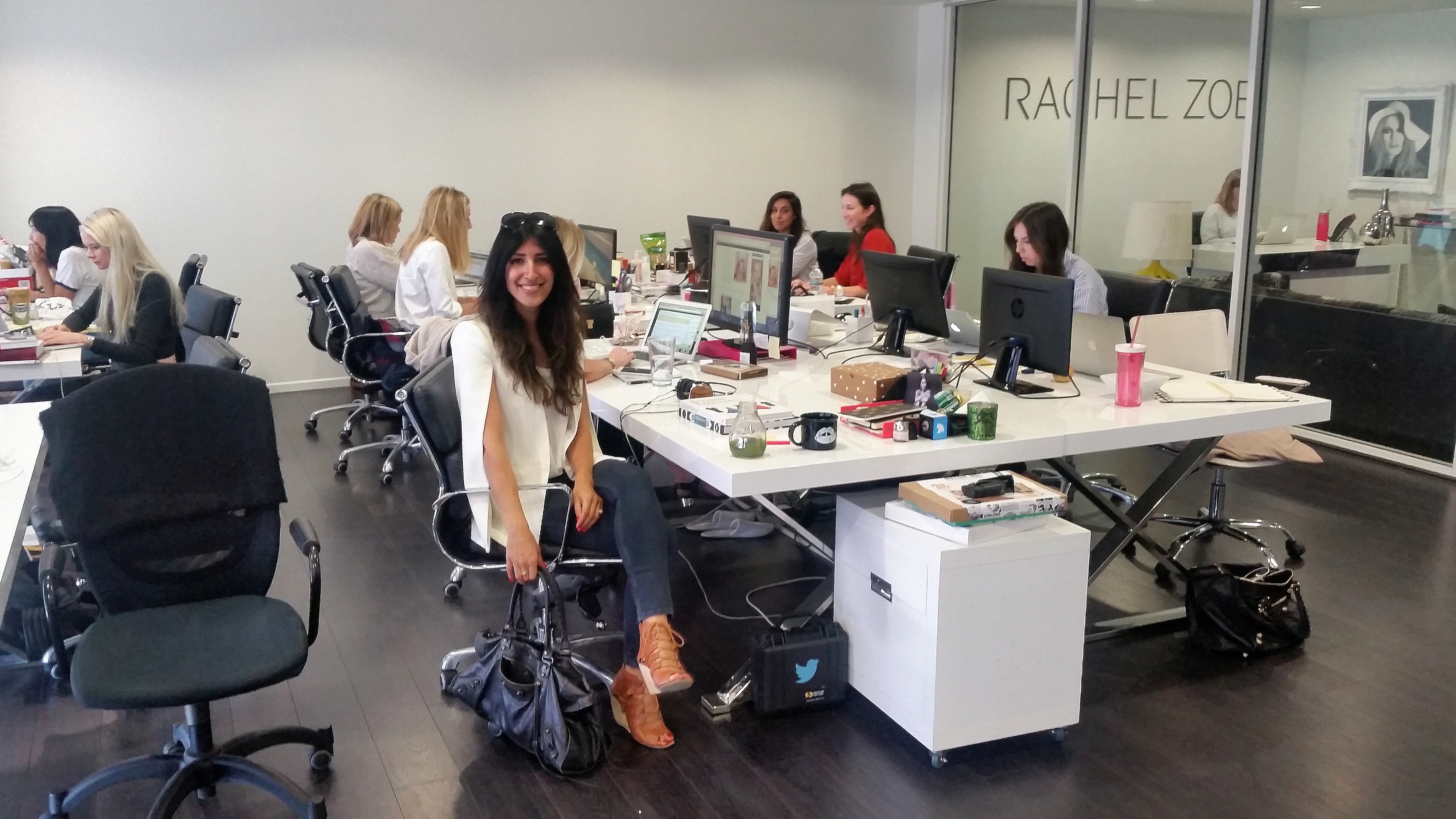A day in the life of a fashion editor (uhhh... just dreaming!)