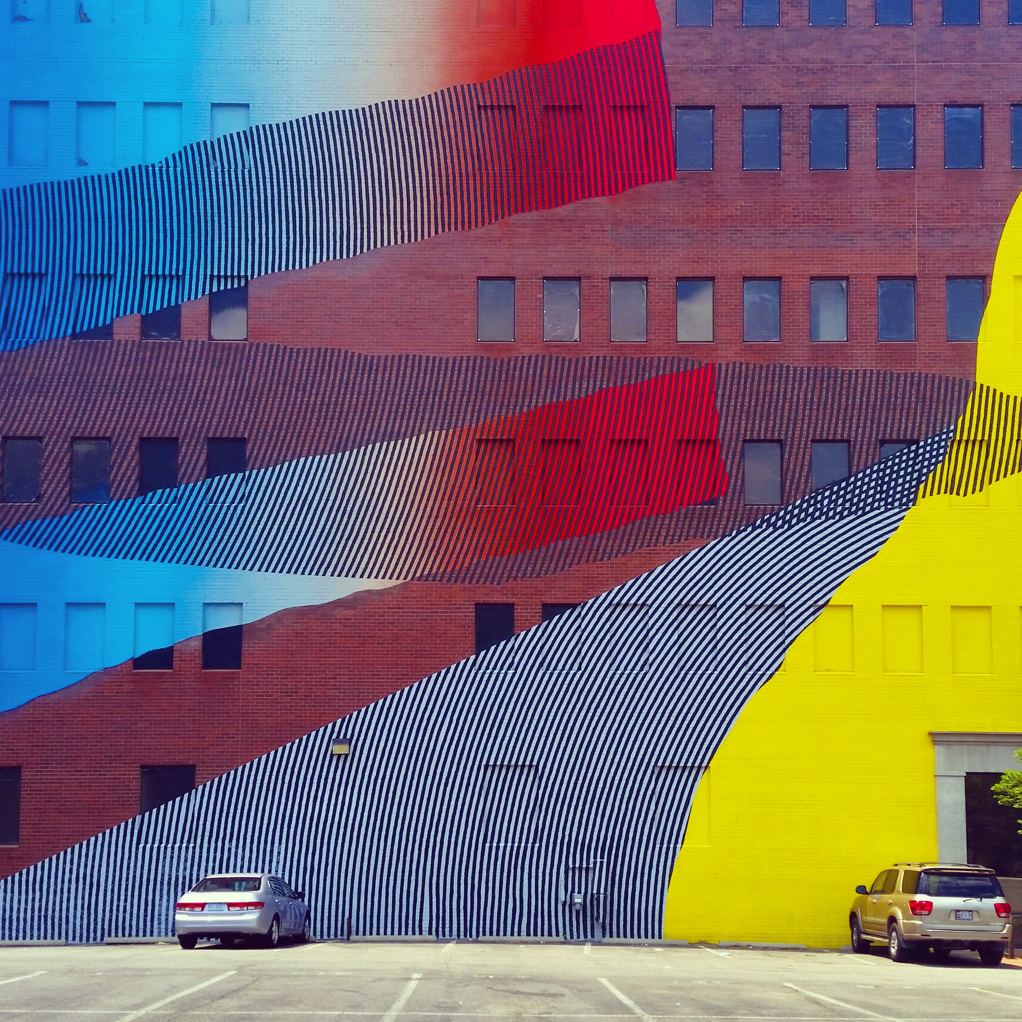 The street art in NoMA brightens up any winter day!