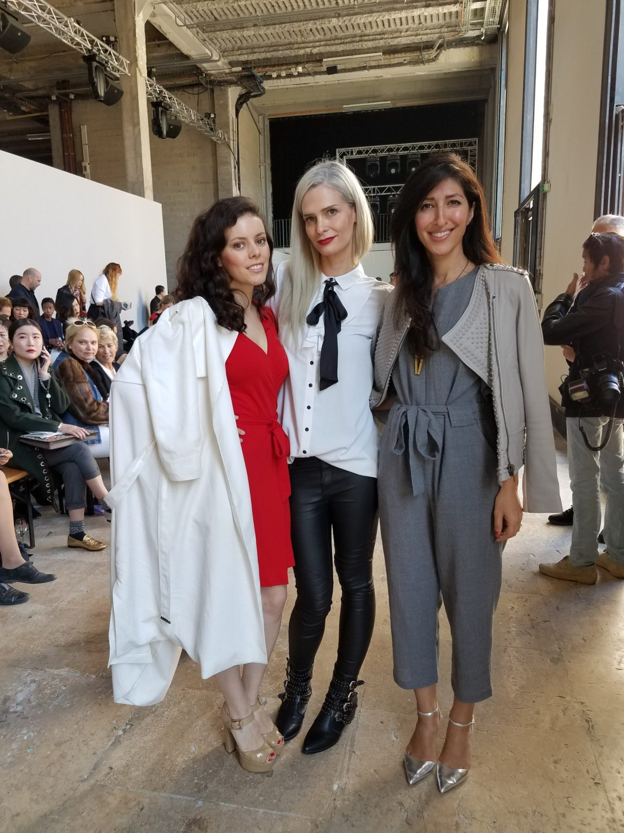 Pre-show | Palais de Tokyo | Loved sharing this show experience with these two beauties!