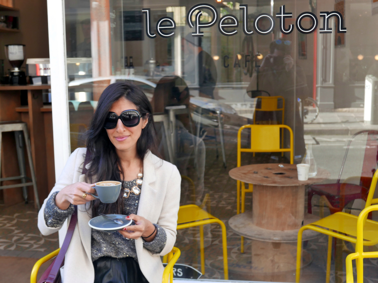 le-peloton-me-outside-with-coffee